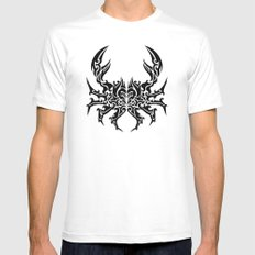 Cancer SMALL Mens Fitted Tee White