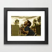 Scream! Framed Art Print