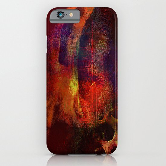 beyond the lines   (This Artwork is a collaboration with the talented artist Agostino Lo coco) iPhone & iPod Case