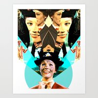 Molly Poppins Art Print