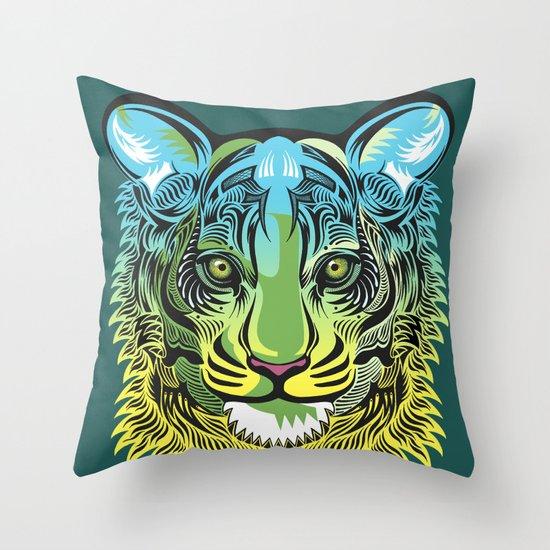 Nocturnal Predator Throw Pillow