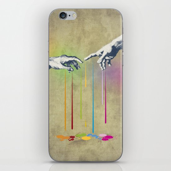 But deliver us from evil iPhone & iPod Skin