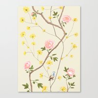 Jenny Chinoiserie  Canvas Print