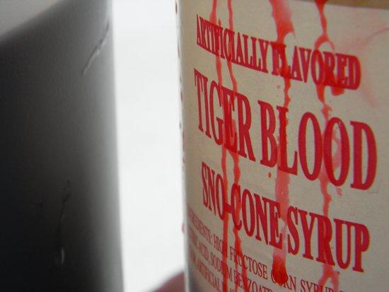 Tiger Blood Art Print