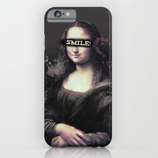Mona Lisa SMILE iPhone & iPod Case