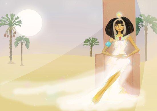 Pharoah Cleopatra VII - Egypt Art Print