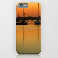 Sleeping Sail Boats iPhone 6 Slim Case