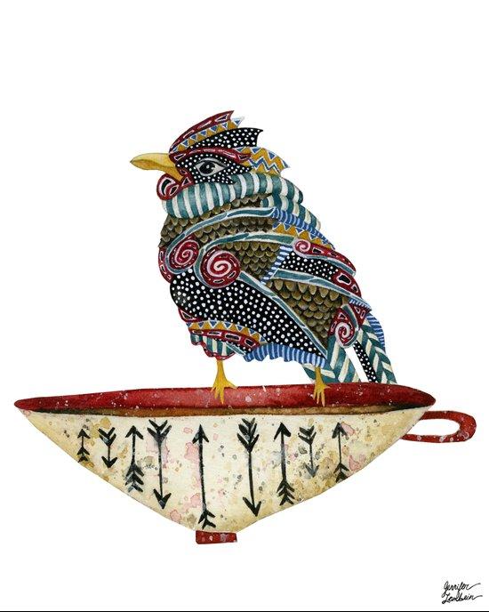 Spirit Bird Art Print
