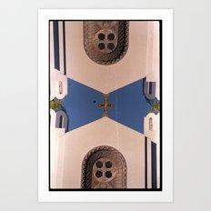 Landscapes c16 (35mm Double Exposure) Art Print