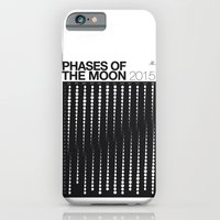 2015 Phases Of The Moon … iPhone 6 Slim Case