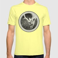 Get Some Green... Mens Fitted Tee Lemon SMALL