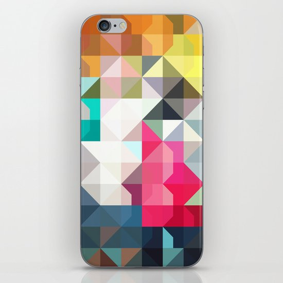 color story - pixelated warfare iPhone & iPod Skin