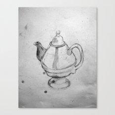 Tea Pot Canvas Print