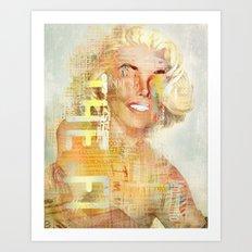 Destructuration #4 Art Print
