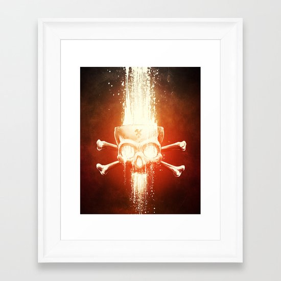 Black Smith Framed Art Print