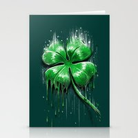 Melting Luck Stationery Cards