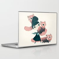 panda Laptop & iPad Skins featuring panda by yohan sacre