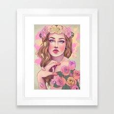 Petals and Thorns 2016 Framed Art Print