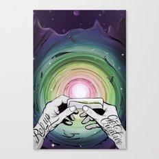 Rollup get creative Canvas Print
