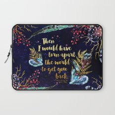 ACOMAF - Torn Apart The World Laptop Sleeve