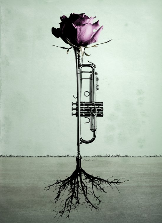Rooted Sound III Art Print