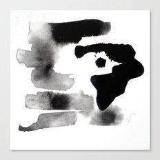 Hide & Seek - India Ink Canvas Print