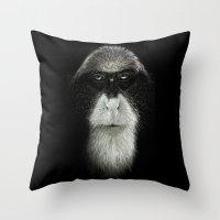 Debrazza's Monkey Square Throw Pillow