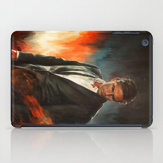 He Who Fights Monsters iPad Case