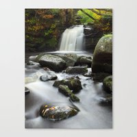Thomasson Foss Waterfall… Canvas Print