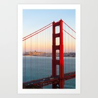 Golden Gate Bridge - San Francisco Art Print