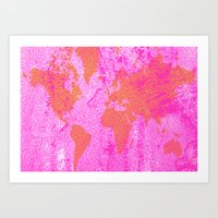 COME WITH ME AROUND THE … Art Print