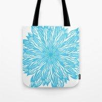 Blue Flow Er Tote Bag