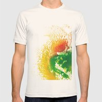 Brilliance Mens Fitted Tee Natural SMALL