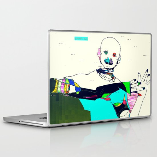 School's Out Laptop & iPad Skin
