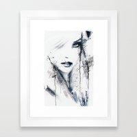 Divine. Framed Art Print