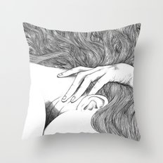 asc 629 - Le geste furtif (Stealth rapture) Throw Pillow