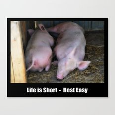 Rest Easy - Poster Canvas Print