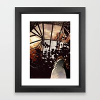 Glass house Framed Art Print