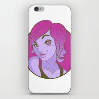 THAT DARN GIRL iPhone & iPod Skin