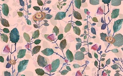 Art Print - pink garden#pink - franciscomffonseca