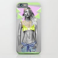 iPhone & iPod Case featuring + WARPAINT + by Sandra Jawad