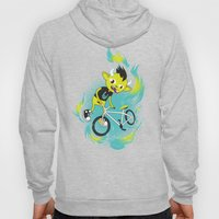 Monster Pixie Riding a Fixie Hoody