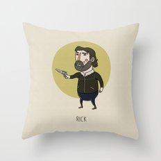 The Walking Dead, Rick G… Throw Pillow