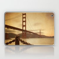 Vintage Golden Gate Laptop & iPad Skin