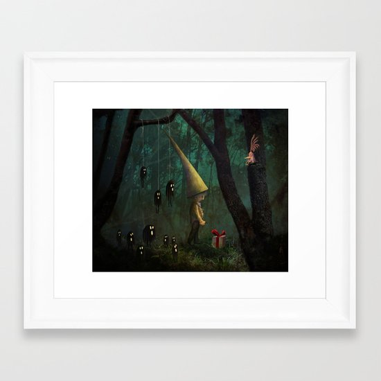 The Gift Framed Art Print