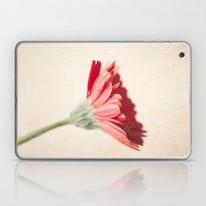 Textured Red Gerbera  Laptop & iPad Skin