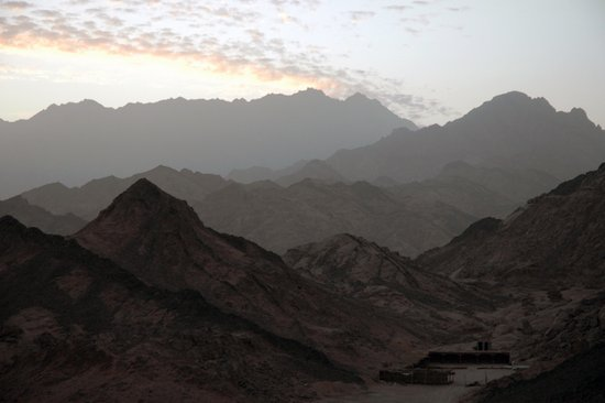 Sinai Mountains, Egypt Art Print