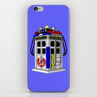Tardis-1 iPhone & iPod Skin
