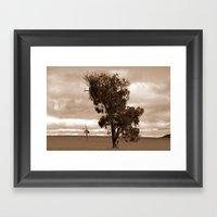 Our Barren Land Framed Art Print