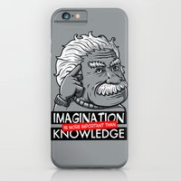 Imagination is more important than knowledge iPhone 6 Slim Case